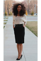 Old Navy skirt - H&M sweater