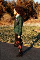 Bershka sweater - H&M skirt - Audrey Brooke pumps