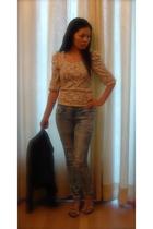 top - jeans - blazer