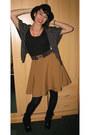 Bow-belt-belt-leather-boots-thrift-hat-diy-skirt