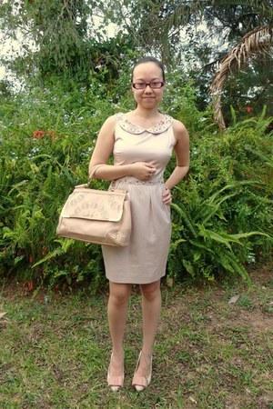 tribeca day Forever New bag - brigitte bardot Forever New dress