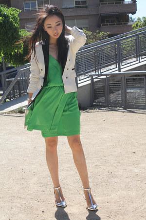 Mango blazer - Zara dress - Zara pumps