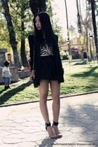 Zara shorts - Mango blazer - Zara blouse - Jeffery Campbell sandals