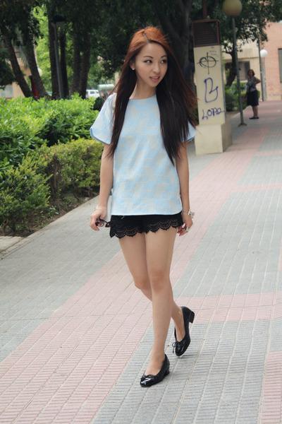 Zara bag - Zara shorts - Zara top