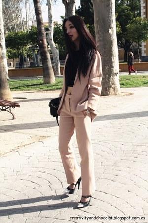 COS blazer - COS pants - Mango top
