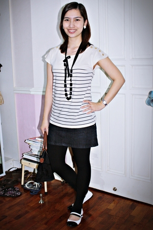 Topshop top - skirt - leggings - Mphosis - Charlotte Russe shoes
