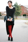 H-m-necklace-forever-21-dress-h-m-leggings-myles-sexton-ring-aldo-pumps