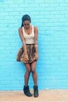 Zara skirt - f21 top