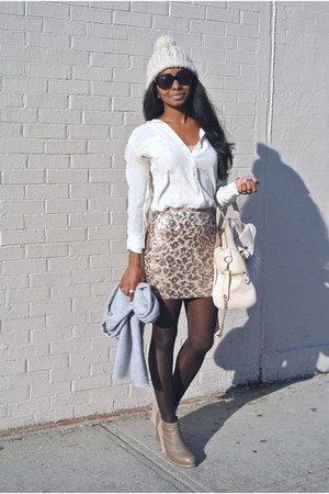 Marshalls skirt - Dolce Vita shoes - Joe Fresh blouse