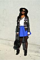 Zara boots - H&M jacket - Choies skirt