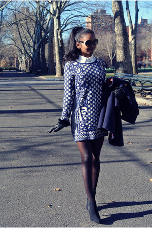 asos shoes - Choies dress - Chanel sunglasses