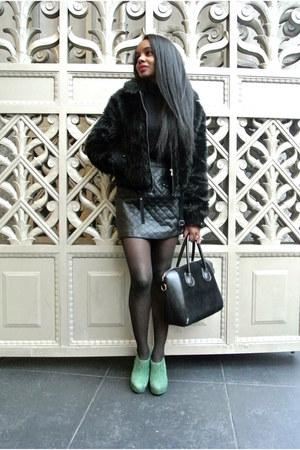 Express jacket - banana republic sweater - Sheinside skirt