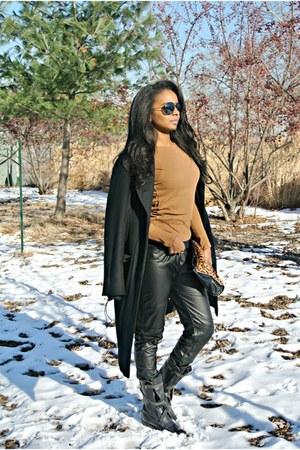 Zara top - BCBG coat