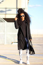 Bcbg-coat-thrifted-sweater-h-m-leggings-forever-21-bag-reebok-sneakers