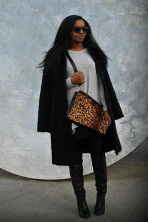 H&M coat - Sheinside top