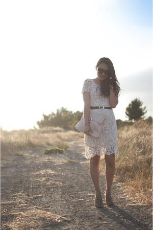 cream vintage dress