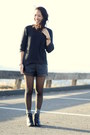 Black-asoscom-boots-black-faux-leather-forever21-shorts