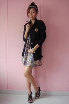 tss blazer - two two dress - GoJane shoes
