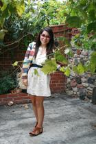 vintage jacket - crossroads skirt - Urban Outfitters Sandals shoes