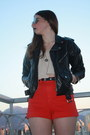 Black-leather-thrifted-vintage-boots-black-leather-vintage-jacket-ruby-red-a