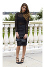 Leather-zara-shirt-patent-leather-yves-saint-laurent-purse-lace-zara-top