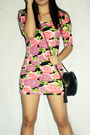 Pink-topshop-dress-black-sm-shoes-purple-wwwlovechildvintagemultiplycom-sung