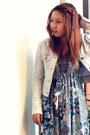 Maxi-mint-dress-denim-jacket