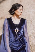Sweet1985 necklace - vintage dress