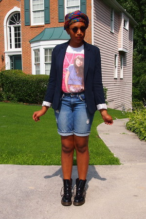 hot pink Kelly Kepowski Shirt shirt - black 1460 Doc Martens boots