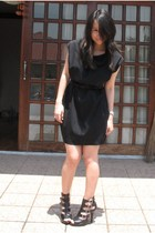 Giordano Ladies dress - YRYS belt - gojanecom shoes