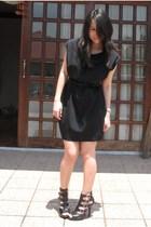 Giordano Ladies dress - YRYS belt - gojanecom shoes