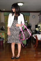 Giordano Ladies blazer - Mango dress - Marc by Marc Jacobs purse - shoes