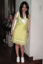 My Little Dress dress - giordano purse - seibu fashion shoes