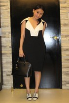 31 phillip lim dress - Zara shoes - Louis Vuitton purse