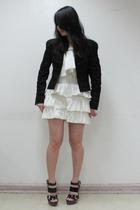 Zara jacket - koo shorts - Forever21 shoes