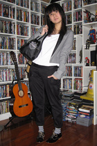 Giordano Concepts blazer - giordano t-shirt - pants - Zara shoes - Marc by Marc