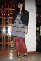 Zara pants - dress - blazer - forever 21 necklace - shoes