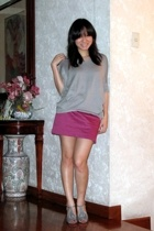 g2000 sweater - asia skirt - lunaheel shoes