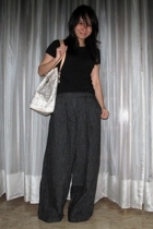 Mango t-shirt - Giordano Ladies pants - Celine purse - shoes