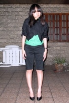 Giordano Ladies jacket - Zara shirt - Giordano Ladies shorts - shoes