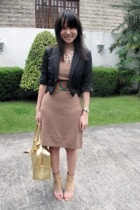 Giordano Concepts blazer - Giordano Ladies dress - Zara belt - Monica Fig shoes