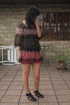 blouse - Zara shorts - shoes