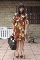 dress - purse - vintage shoes