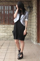 blazer - H&M dress - H&M shoes