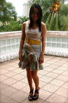 g2000 top - belt - U skirt - from Korea shoes