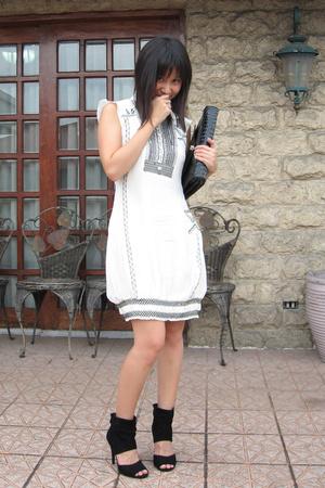 Tsumori Chisato dress - Zara shoes - purse