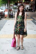 Covetz dress - longchamp bag - Ipanema sandals