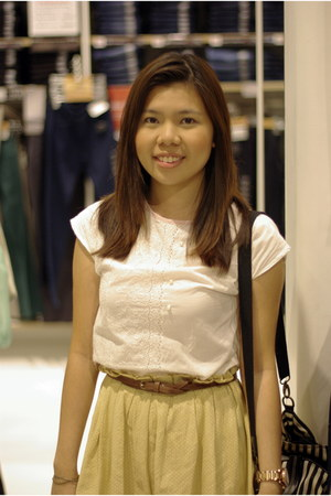 top - skirt - belt