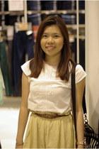 top - skirt - belt