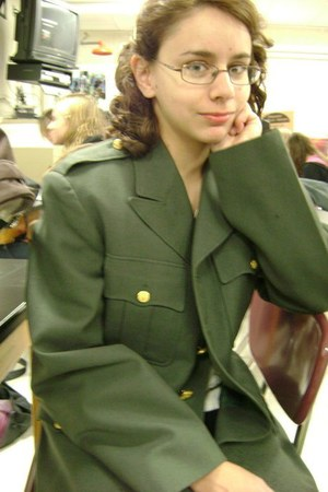 military vintage jacket